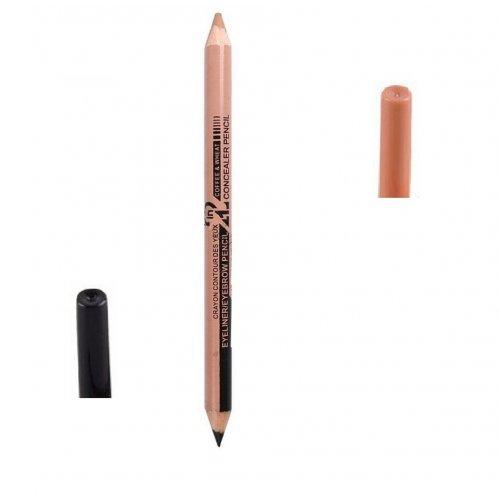 Двустранен молив очна линия и коректор