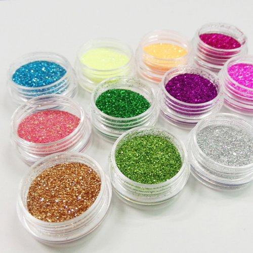 Брокат за нокти във фериа от цветове