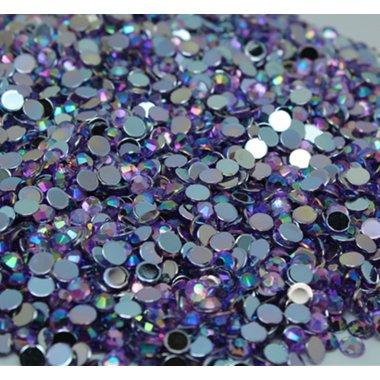 Блестящи камъчета за нокти в лилаво