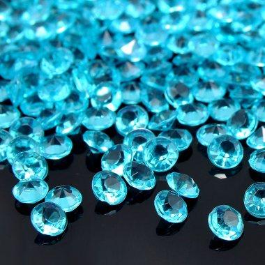 Диамантчета 2.5 милиметра в светло синьо
