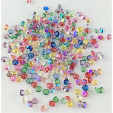 Диамантчета 3 милиметра в микс цветове