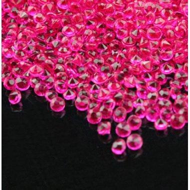 Диамандчета 2.5 милиметра в електриково розово