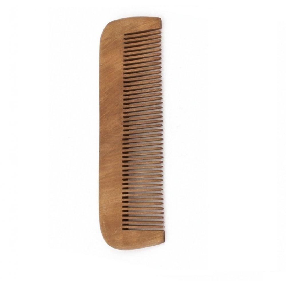 16 сантиметра дървен гребен