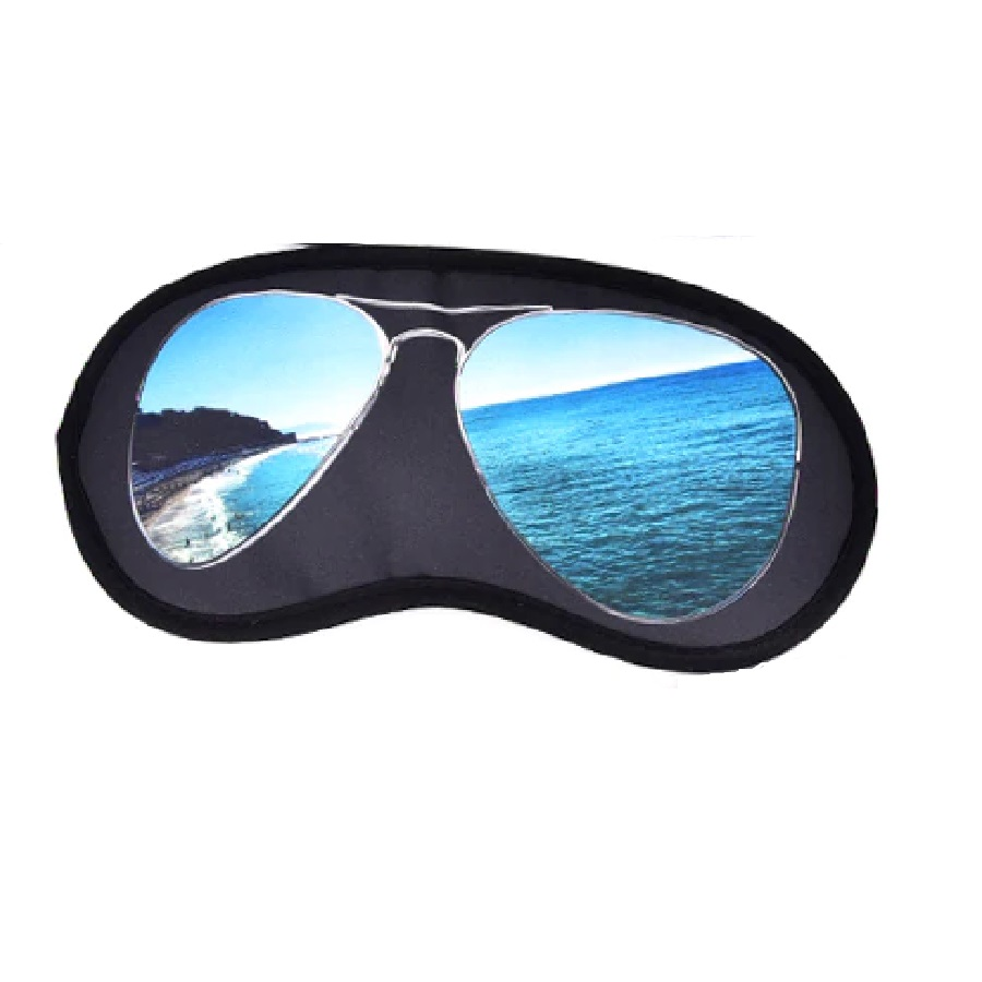 3D маска очила с море за спане