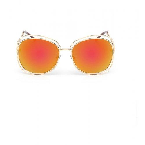Очила с червени светло отразяващи стъкла