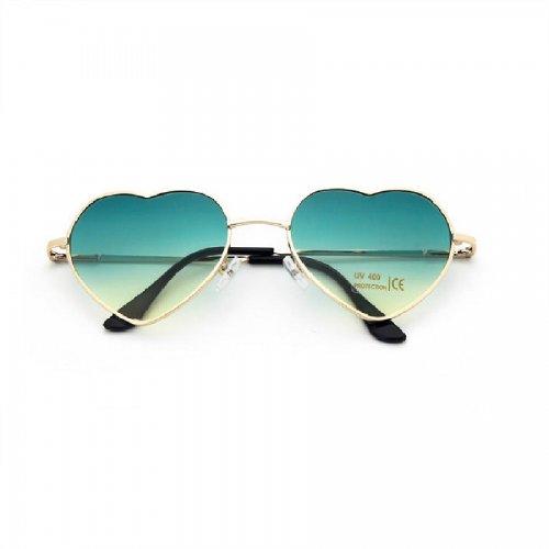 Очила зелени сърца