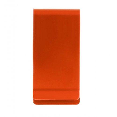 Алуминиев, оранжев клипс за банкноти