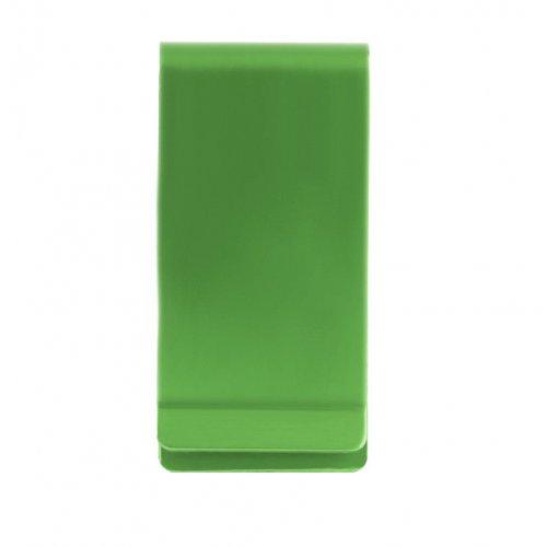 Алуминиев, зелен клипс за банкноти