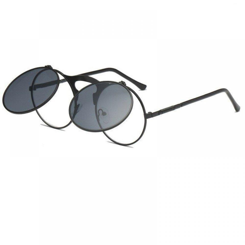Очила с черни и прозрачни стъкла