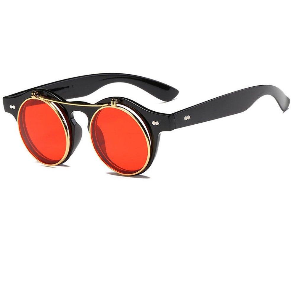 Очила с червени и прозрачни очила