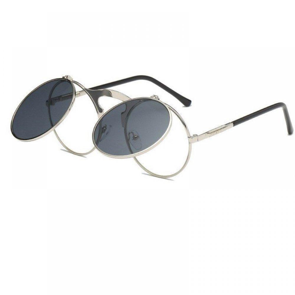 Очила с прозрачни и черни стъкла