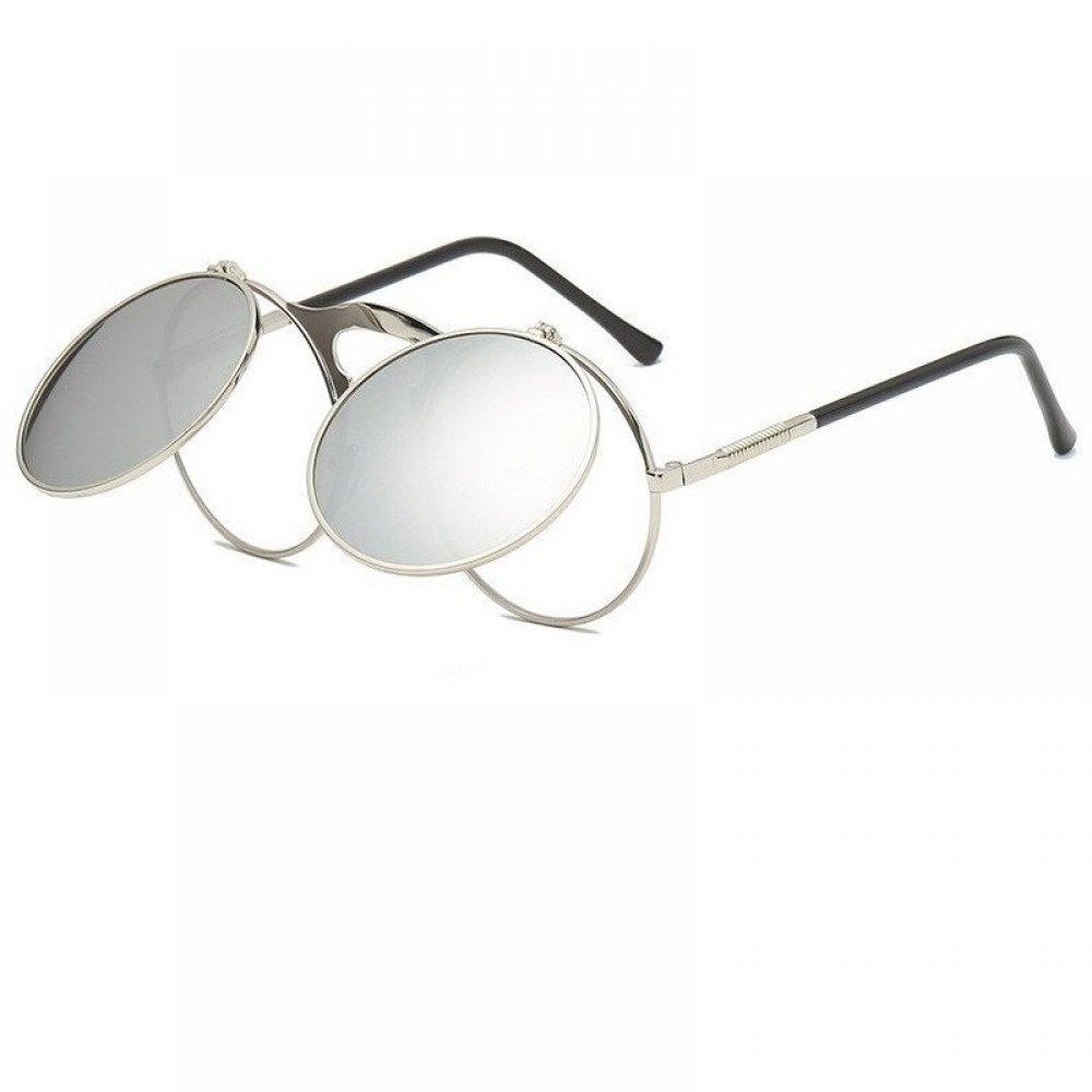 Слънчеви очила с прозрачни и огледални стъкла