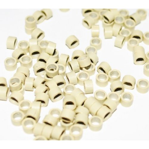 4,5 мм пръстени без силикон - светло русо