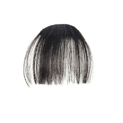 Изкуствен бретон - тъмно кафяво