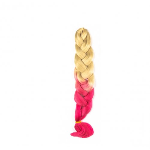 Канекалон 82 сантиметра - русо и розово