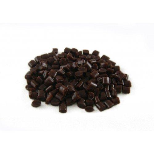 Кератин на гранули - коса тъмен кестен