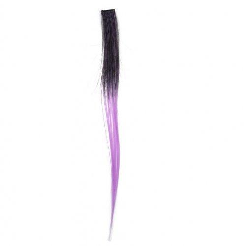 Кичур в два цвята - лилаво