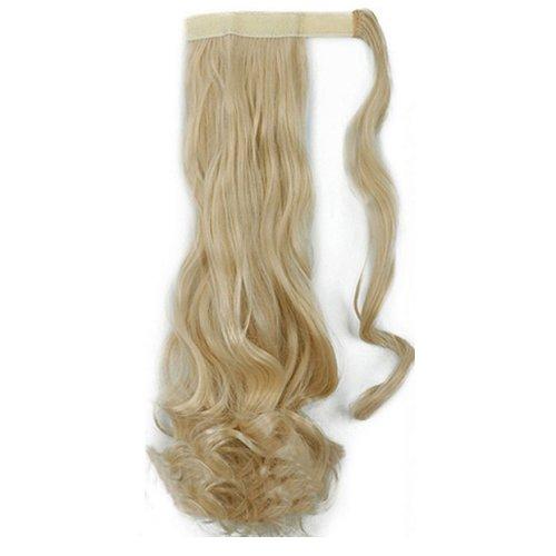 Опашка с лента от изкуствен косъм - русо
