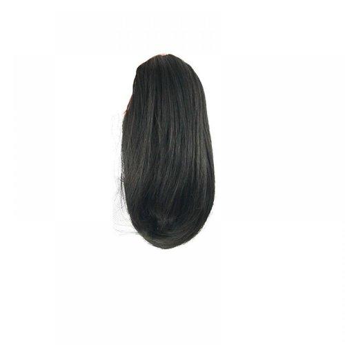 Опашка с шнола - тъмно кафяво