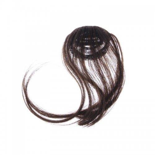 Закачлив кичур за коса - кафяво