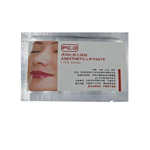 Перманентен грим - обезболяващи ленти за устни