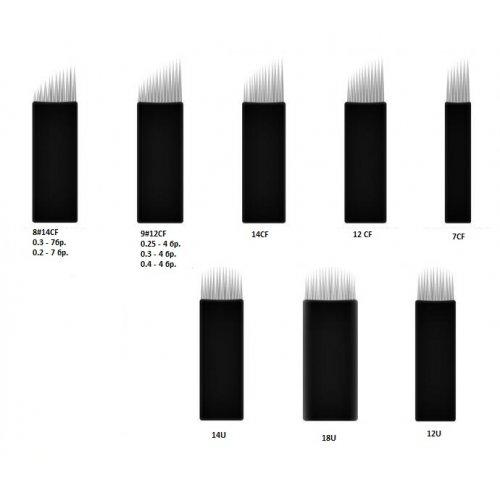 Перманентен грим - игли за микроблейдинг