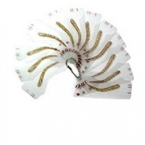 Перманентен грим - комплект шаблони за вежди