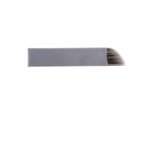 Перманентен грим ръчен метод - игла 16F