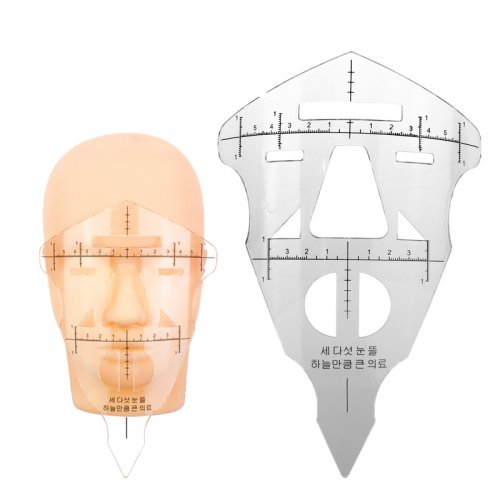 Перманентен грим - шаблон маска