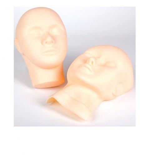 Перманентен грим - силиконова глава и маска