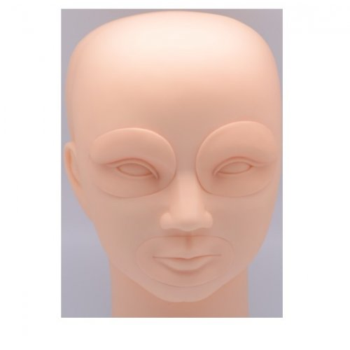 Перманентен грим - силиконова глава