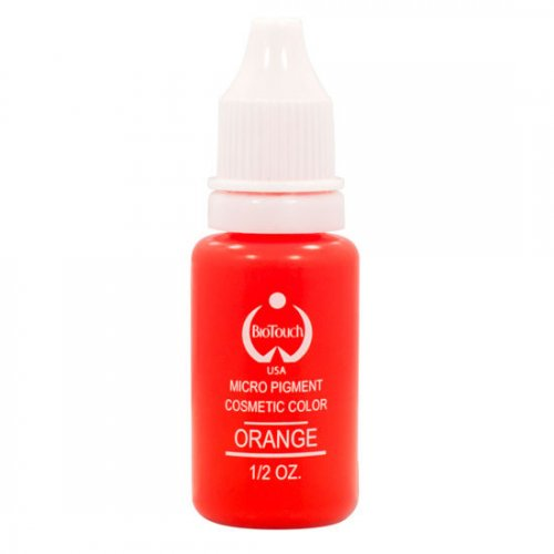 Боя за перманентен грим, оранжева