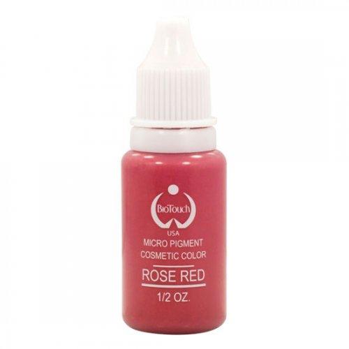 Боя за перманентен грим, розово - червена
