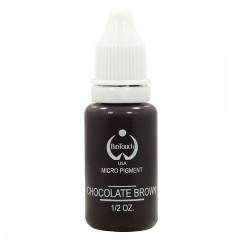 Боя за перманентен грим, шоколадено кафяво