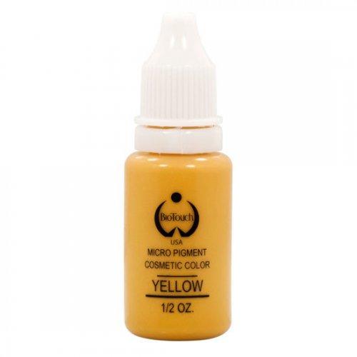 Боя за перманентен грим, жълта