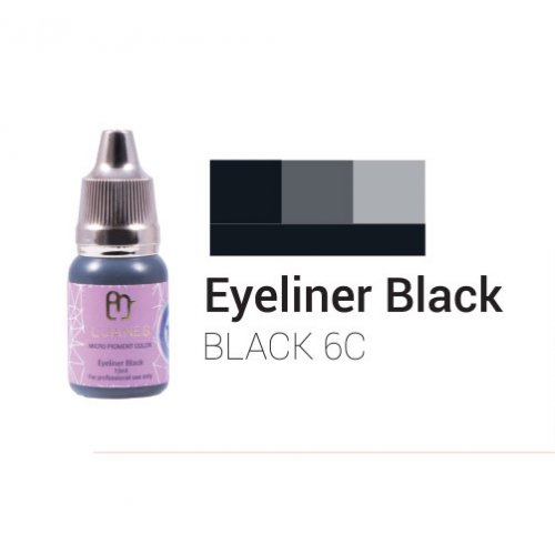 Пигмент за перманентен грим, черна очна линия