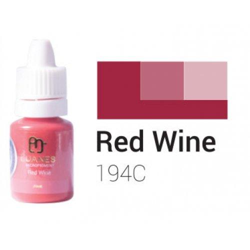 Пигмент за перманентен грим, червено вино