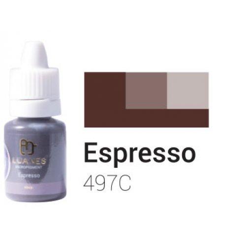 Пигмент за перманентен грим, еспресо