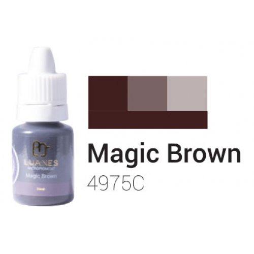 Пигмент за перманентен грим, кафява магия