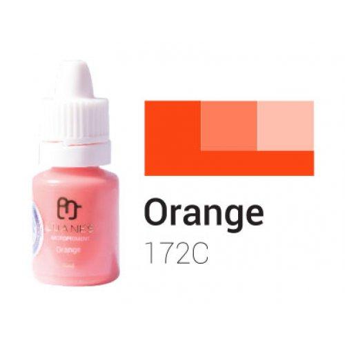 Пигмент за перманентен грим, оранжев