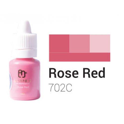Пигмент за перманентен грим, розово - червен