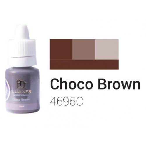 Пигмент за перманентен грим, шоколадено кафяв