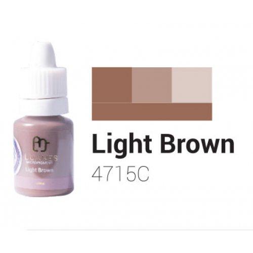 Пигмент за перманентен грим, светло кафяв