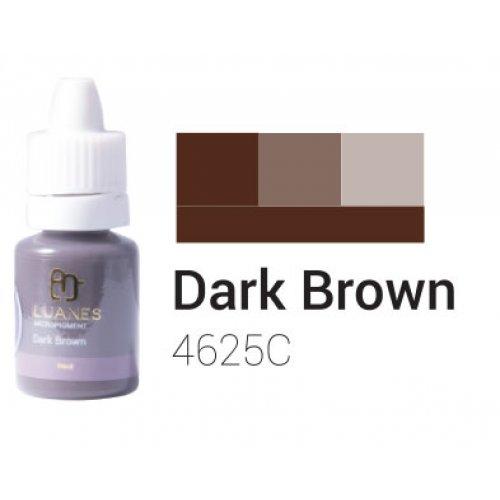 Пигмент за перманентен грим, тъмно кафяв