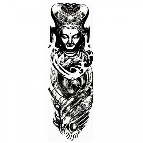 Временна татуировка с божество
