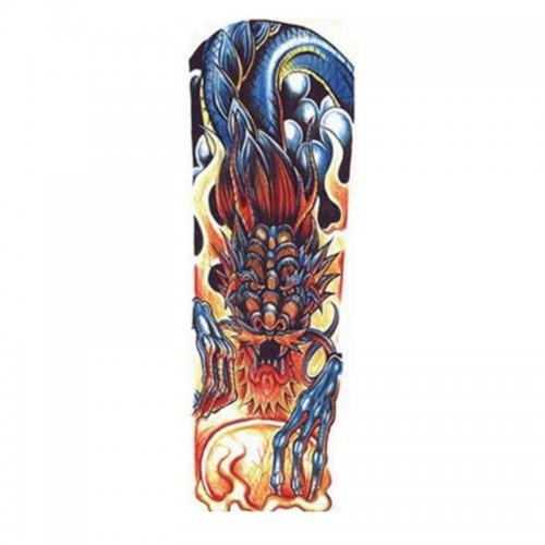 Временна татуировка дракон