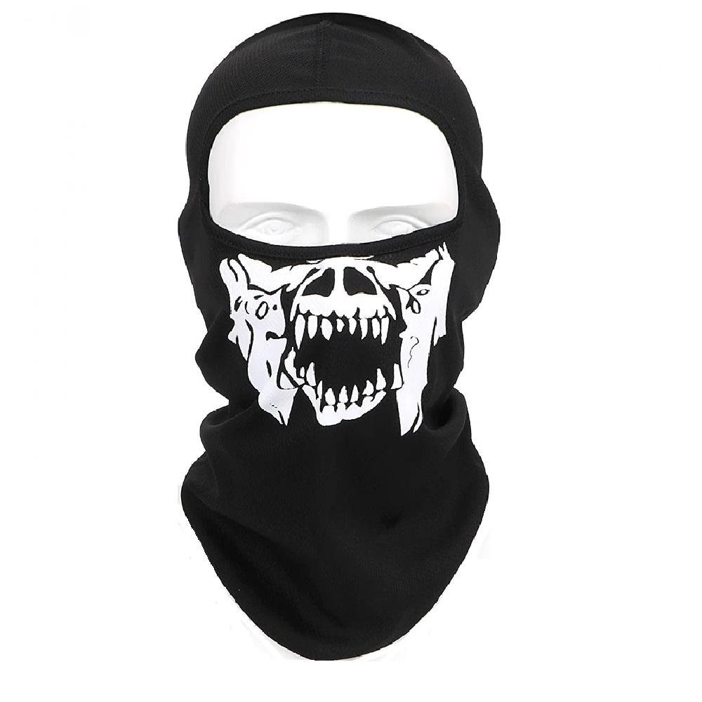 Нинджа маска с череп