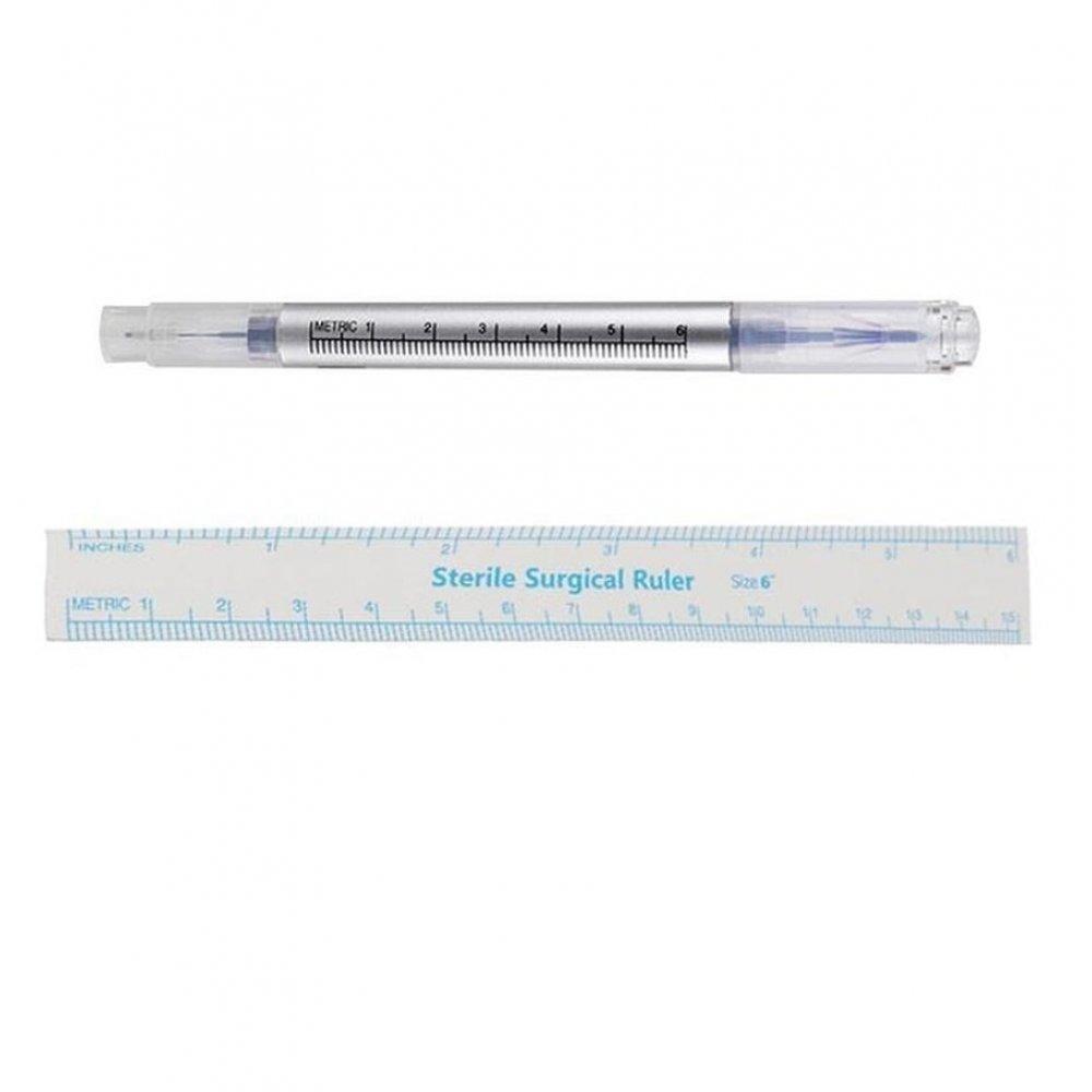 Перманентен грим - маркер с линийка