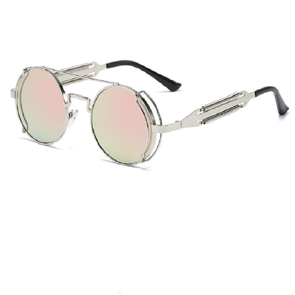 Слънчеви очила с дизайнерски рамки розови