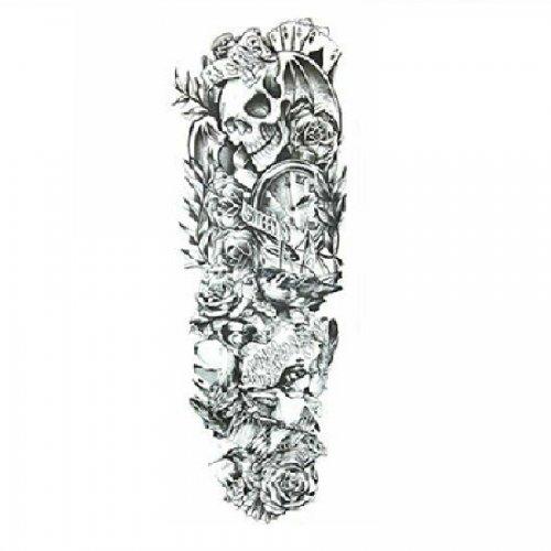 Временна татуировка черепи